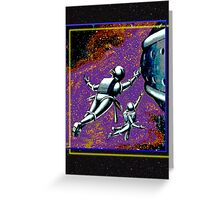 Galactic Patrol Greeting Card