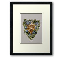 spring greenman Framed Print