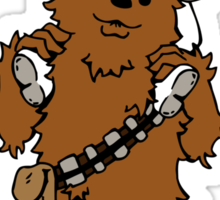 My Friend Chewie Sticker