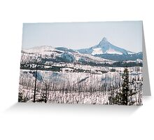 Mt. Washington from Santiam Pass Greeting Card