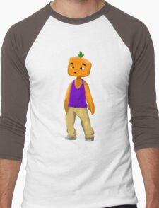 SpicyKumquat Drawn Tee Men's Baseball ¾ T-Shirt