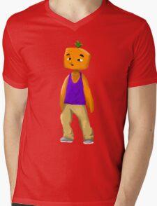 SpicyKumquat Drawn Tee Mens V-Neck T-Shirt