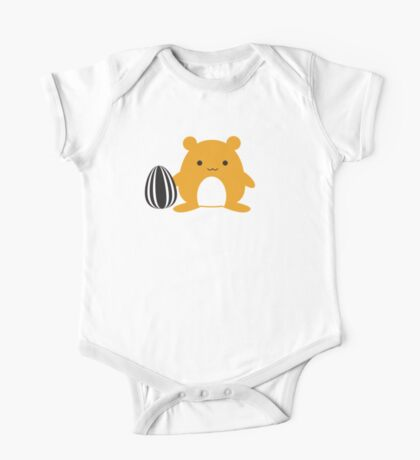 Hamster with Snack One Piece - Short Sleeve