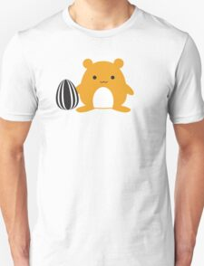 Hamster with Snack Unisex T-Shirt