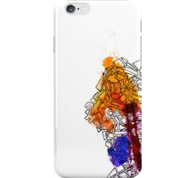 COLOR ON THE WALLS iPhone Case/Skin