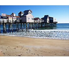 Old Orchard Beach Photographic Print