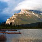 Magnificent Mount Rundle by Stephanie Johnson