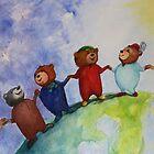 Friendship Bears by Monica Batiste