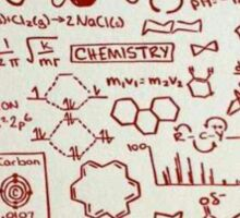 Chemist at heart Sticker