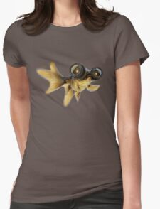 Lens eyed fish Womens Fitted T-Shirt