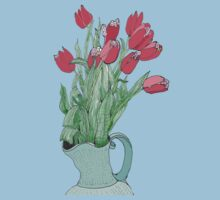 A pitcher of Tulips Baby Tee