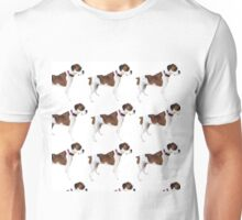 Asa Grey boxer dog Unisex T-Shirt