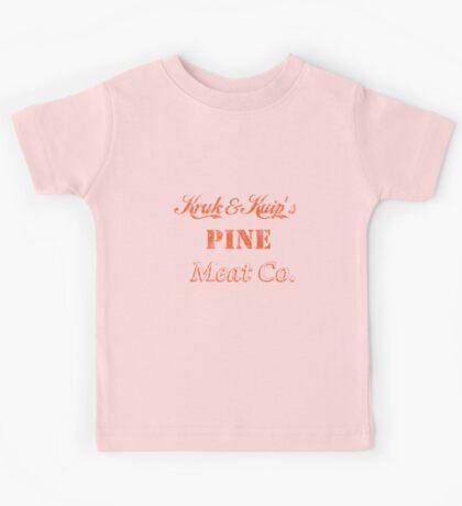 Kruk and Kuip's Pine Meat Company Kids Tee