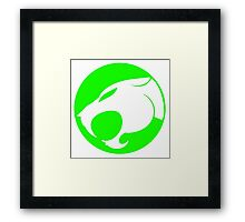THUNDERCATS GREEN Framed Print