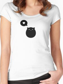 Kitty Love Women's Fitted Scoop T-Shirt