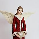 Christmas Angel -  Christmas Card Series # 3 by Evita