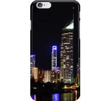 Dark city of Gold Coast  iPhone Case/Skin
