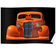1936 Chevy Coupe Pro Mod Poster