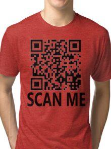 Scan me, shirt gag! Tri-blend T-Shirt