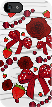 Strawberry Diamond Decor by Adamzworld