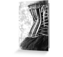 Ribbons and Lace Greeting Card