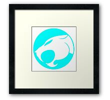 THUNDERCATS LIGHT BLUE Framed Print