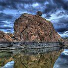 Watson Lake iPad Case by Kgphotographics