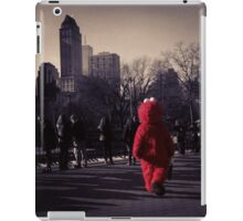 Lonely Elmo of Central Park New York City iPad Case/Skin