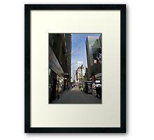 NYC Street Framed Print