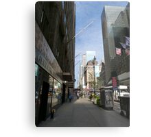 NYC Street Metal Print