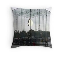 Apple in the Sky Throw Pillow