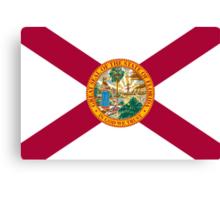 Florida State Flag Canvas Print