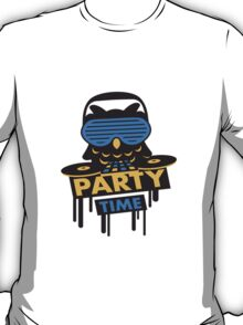 Party Time Owl T-Shirt