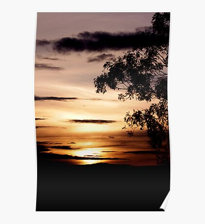 Tranquil Dusk No. 1 Poster