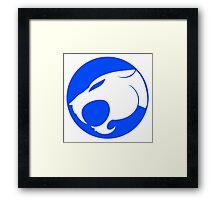 THUNDERCATS INDIGO BLUE Framed Print
