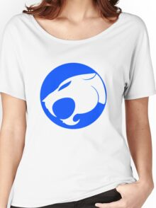 THUNDERCATS INDIGO BLUE Women's Relaxed Fit T-Shirt