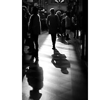 Arcade Walk Photographic Print