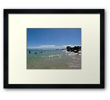Beautiful Wave Framed Print