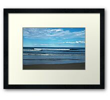 Beautiful Surf Framed Print