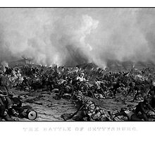 The Battle of Gettysburg -- Civil War by warishellstore