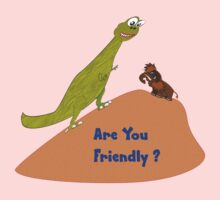 Are You Friendly T-shirt Kids Tee