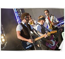 McFly at Queen Elizabeth Olympic Park Poster