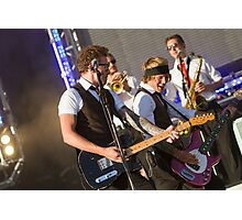 McFly at Queen Elizabeth Olympic Park Photographic Print