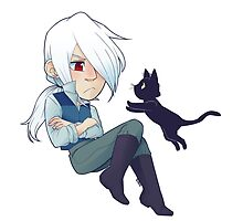 Al and his cat by Midorilied