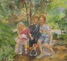 Sibling Revelry by bevmorgan
