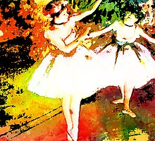 DIGITAL IMPRESSIONISM ~ DEGAS DEDICATION by Tammera