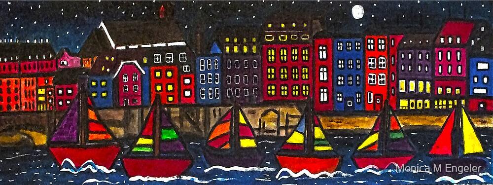 Harbor Traffic by Monica Engeler