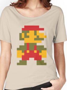 8 bit Mario V.2 Women's Relaxed Fit T-Shirt
