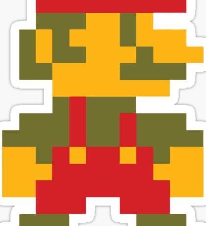 8 bit Mario V.2 Sticker