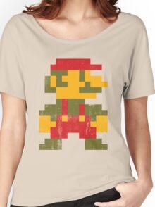 8 bit Mario V.1 Women's Relaxed Fit T-Shirt